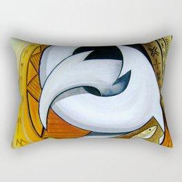 Fish Hooks Rectangular Pillow