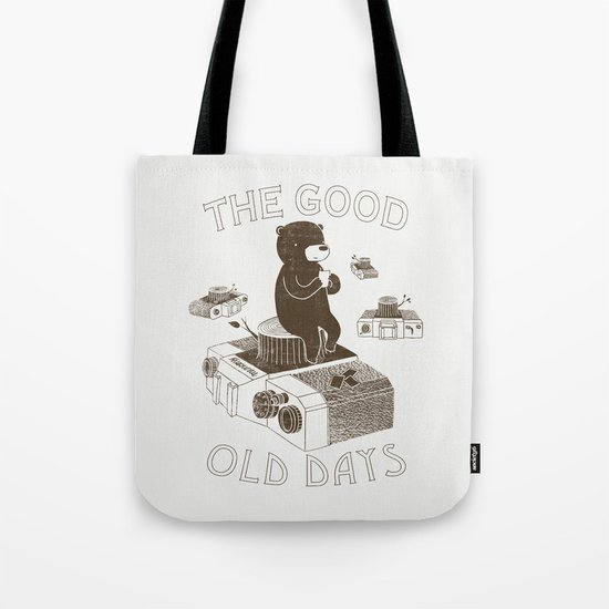 The Good Old Days Tote Bag