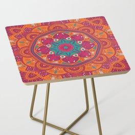 Colorful Mandala Pattern 017 Side Table