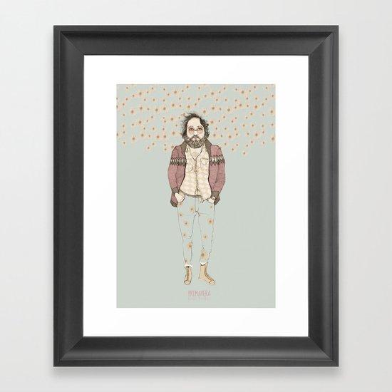 """PRIMAVERA, """"las Tendencias de Ufri"""" Framed Art Print"""