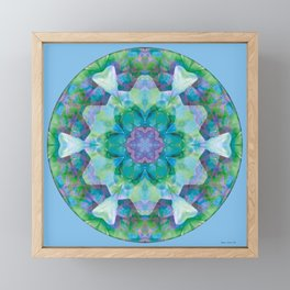 Mandalas of Healing and Awakening 10 Framed Mini Art Print