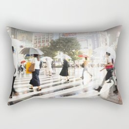The Shibuya Crossing Rectangular Pillow