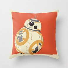 BB 8ight Throw Pillow