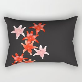 Cascading Lilly Rectangular Pillow