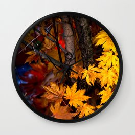 Japanese maple tree Wall Clock