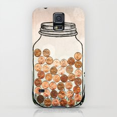 Lucky Pennies Galaxy S5 Slim Case