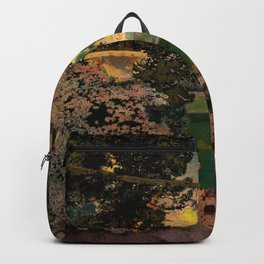 The oaks, the garden of years and other poems floral portrait by Maxfield Parrish Backpack