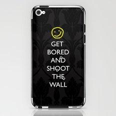 Smiley target iPhone & iPod Skin