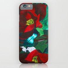 Red Flower Wreath iPhone 6s Slim Case