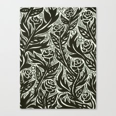Death of the Roses Canvas Print