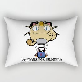 Prepare For Trouble! Rectangular Pillow