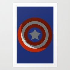 The Captains Shield Art Print