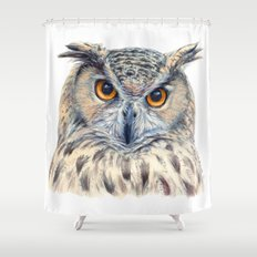 Eage Owl CC1404 Shower Curtain