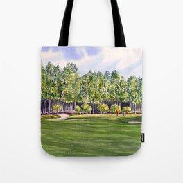 Pinehurst Golf Course No2 Hole 17 Tote Bag