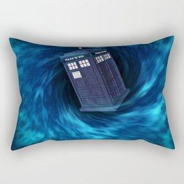"""TARDIS """"Dr. WHO"""" Rectangular Pillow"""