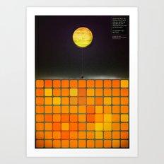 Nothing - Facebook Shapes & Statuses Art Print