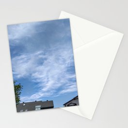 Dragon energy above the rooftops Stationery Cards