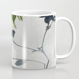 Clover. Green white gray. Shamrock. Nature. Coffee Mug