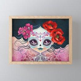 Amelia Calavera - Sugar Skull Framed Mini Art Print