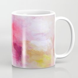 Blush Song #1 Original Painting by Rachael Rice Coffee Mug
