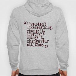 Quote Shirt Hoody