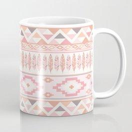 Pink Boho Tribal Aztec Coffee Mug