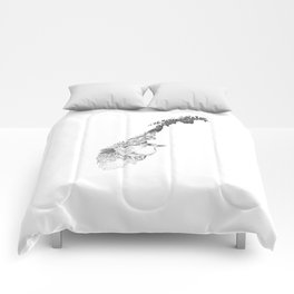 Norge dipper Comforters