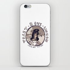 Toast Boy's Union iPhone & iPod Skin