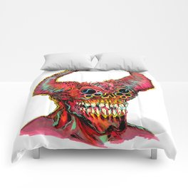 Demon Head Comforters