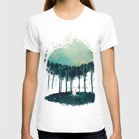 T-shirts featuring Deep in the forest by Robert Farkas