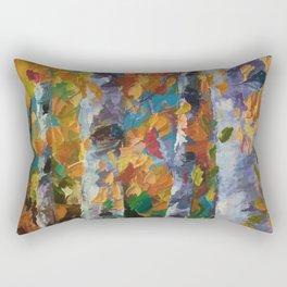 Birch trees - 1 Rectangular Pillow