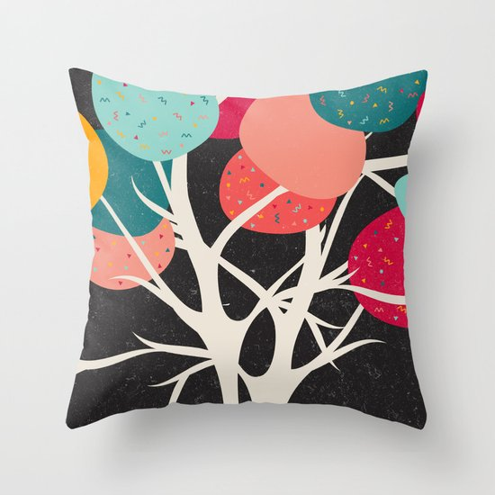 Lovely Tree Throw Pillow