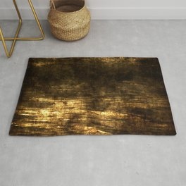 Loving the Waves series - Gold 2 Rug