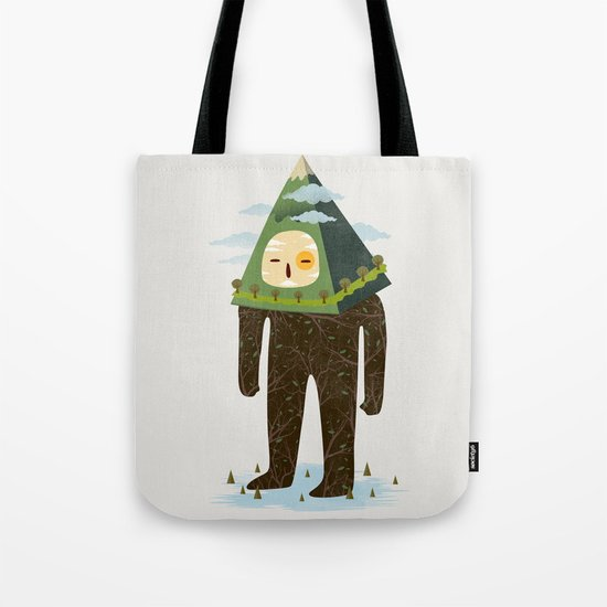 The Man Mountain Tote Bag