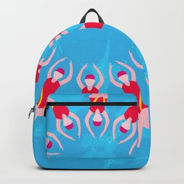 Synchronized Swimmers Backpack