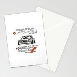 Crazy Car Art 0126 Stationery Cards