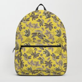 GRAY FOREST SQUIRRELS  - ILLUMINATING YELLOW Backpack