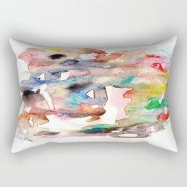 Watercolor 758 ing Rectangular Pillow