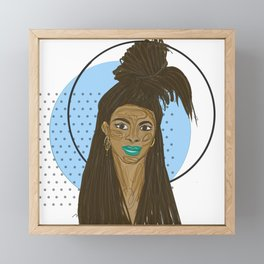 Expression Framed Mini Art Print