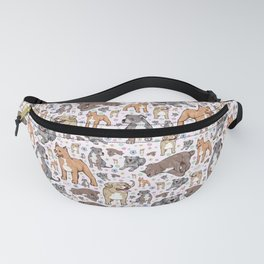 Cute Pitbulls Fanny Pack