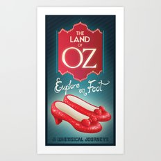 Land of Oz Art Print