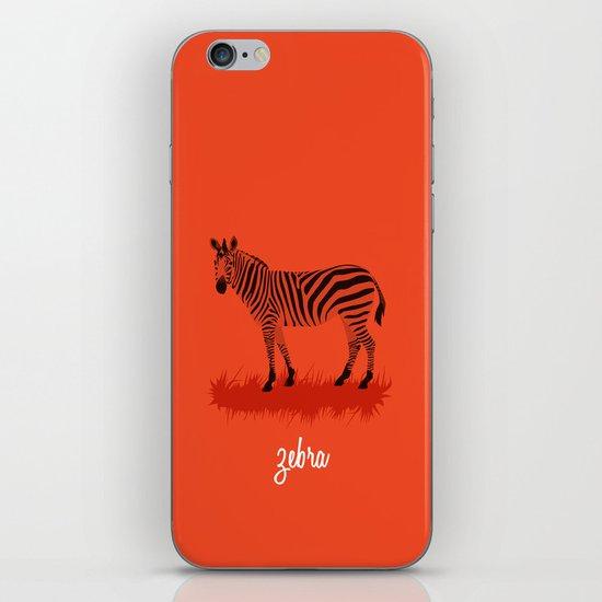 4-Legged Exotica Series: Zebra iPhone & iPod Skin