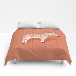 Animal Kingdom: Zebra I Comforters
