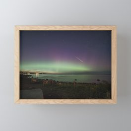 Aurora Fireball Framed Mini Art Print