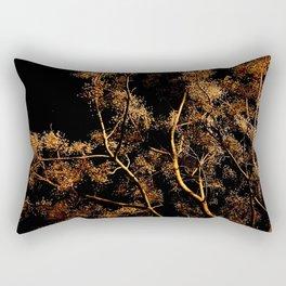 moonlight tree Rectangular Pillow