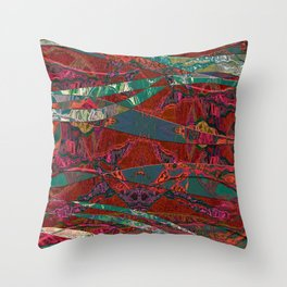The Fabric Forest Throw Pillow