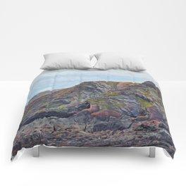 Hartland Quay Cliffs Comforters