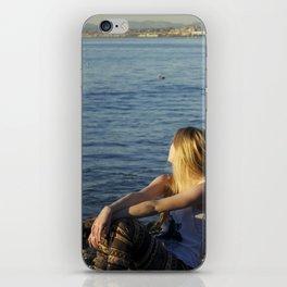 LA beaches iPhone Skin