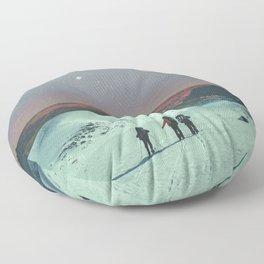 The Missing Three Floor Pillow
