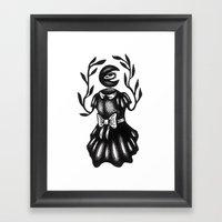Goddess of the Moon Framed Art Print